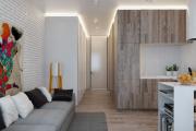 Фото 17 Гостиная-кухня площадью 20 кв. м: обзор современных дизайн-проектов и планировок
