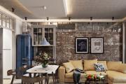 Фото 22 Гостиная-кухня площадью 20 кв. м: обзор современных дизайн-проектов и планировок