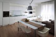 Фото 25 Гостиная-кухня площадью 20 кв. м: обзор современных дизайн-проектов и планировок