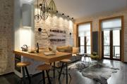 Фото 26 Гостиная-кухня площадью 20 кв. м: обзор современных дизайн-проектов и планировок