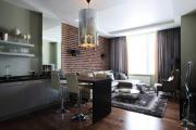 Фото 34 Гостиная-кухня площадью 20 кв. м: обзор современных дизайн-проектов и планировок