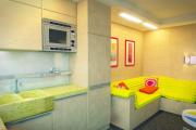 Фото 11 Дизайн кухни площадью 15 кв. метров с диваном: рекомендации дизайнеров и стильные идеи планировки