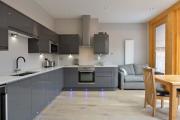 Фото 16 Дизайн кухни площадью 15 кв. метров с диваном: рекомендации дизайнеров и стильные идеи планировки