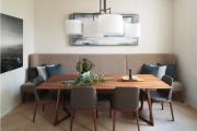 Фото 17 Дизайн кухни площадью 15 кв. метров с диваном: рекомендации дизайнеров и стильные идеи планировки