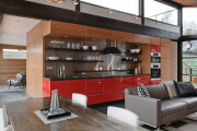 Фото 22 Дизайн кухни площадью 15 кв. метров с диваном: рекомендации дизайнеров и стильные идеи планировки