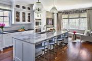 Фото 23 Дизайн кухни площадью 15 кв. метров с диваном: рекомендации дизайнеров и стильные идеи планировки