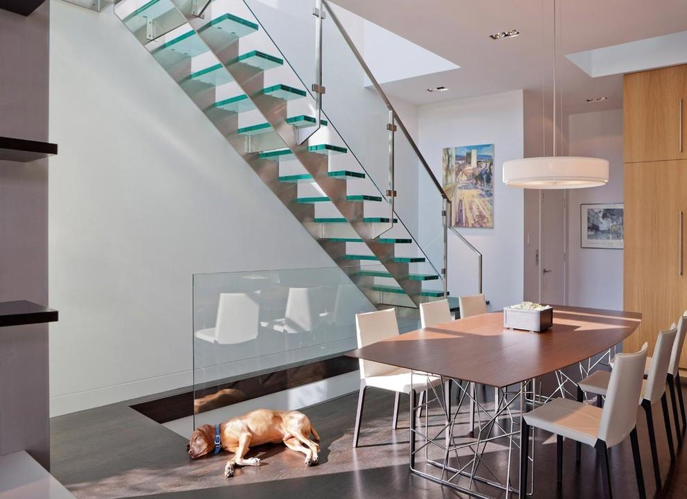 Лестницы из стекла 60 легких и воздушных интерьеров