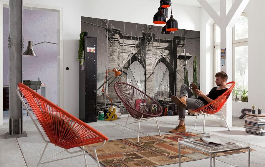 Обои поп-арт в интерьере 60 идей в стиле Энди Уорхола
