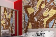 Фото 2 По стопам Энди Уорхола: подборка ярких интерьеров с обоями и постерами в стиле поп-арт