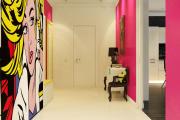 Фото 4 По стопам Энди Уорхола: подборка ярких интерьеров с обоями и постерами в стиле поп-арт