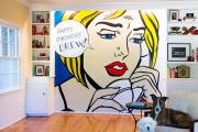 Фото 5 По стопам Энди Уорхола: подборка ярких интерьеров с обоями и постерами в стиле поп-арт