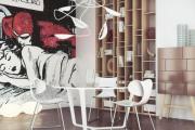 Фото 24 По стопам Энди Уорхола: подборка ярких интерьеров с обоями и постерами в стиле поп-арт