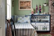 Фото 5 Как обустроить компактное спальное место на кухне? Дизайнерские идеи и варианты