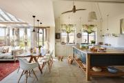 Фото 7 Как обустроить компактное спальное место на кухне? Дизайнерские идеи и варианты