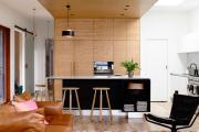 Фото 14 Как обустроить компактное спальное место на кухне? Дизайнерские идеи и варианты
