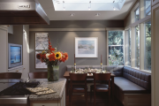 Фото 17 Обустраиваем спальное место на кухне (65+ практичных фотоидей): советы и рекомендации дизайнеров