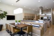 Фото 18 Как обустроить компактное спальное место на кухне? Дизайнерские идеи и варианты