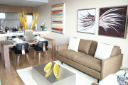 Фото 19 Обустраиваем спальное место на кухне (65+ практичных фотоидей): советы и рекомендации дизайнеров