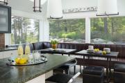 Фото 20 Как обустроить компактное спальное место на кухне? Дизайнерские идеи и варианты