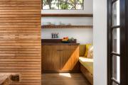 Фото 22 Как обустроить компактное спальное место на кухне? Дизайнерские идеи и варианты