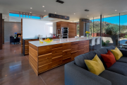 Фото 24 Как обустроить компактное спальное место на кухне? Дизайнерские идеи и варианты