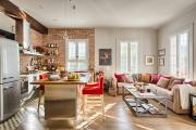 Фото 30 Как обустроить компактное спальное место на кухне? Дизайнерские идеи и варианты