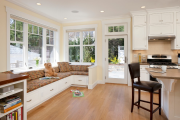 Фото 32 Как обустроить компактное спальное место на кухне? Дизайнерские идеи и варианты