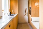 Фото 33 Как обустроить компактное спальное место на кухне? Дизайнерские идеи и варианты