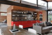 Фото 4 Как обустроить компактное спальное место на кухне? Дизайнерские идеи и варианты