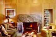Фото 13 Стильный каменный век: 60+ идей отделки камина камнем в интерьере