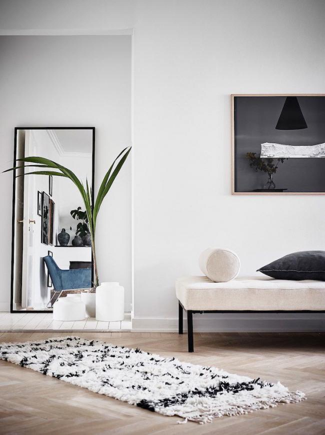 Оформление коридора должно соответствовать общему направлению дизайна всей квартиры