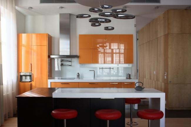 Эргономика и стиль - сочетаемые понятия для 3-х метровой кухни