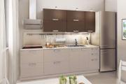 Фото 13 Компактные решения: выбираем идеальную прямую кухню длиной три метра