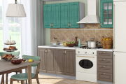 Фото 15 Компактные решения: выбираем идеальную прямую кухню длиной три метра