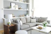 Фото 9 Интерьер гостиной в сером цвете (60+ фото): секреты гармоничного дизайна и лучшие сочетания серого