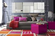 Фото 10 Гостиная в сером цвете: советы дизайнеров и варианты комбинаций с другими оттенками