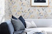 Фото 5 Гостиная в сером цвете: советы дизайнеров и варианты комбинаций с другими оттенками