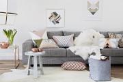 Фото 7 Интерьер гостиной в сером цвете (60+ фото): секреты гармоничного дизайна и лучшие сочетания серого
