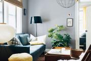 Фото 24 Гостиная в сером цвете: советы дизайнеров и варианты комбинаций с другими оттенками