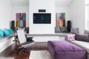 Фото 26 Интерьер гостиной в сером цвете (60+ фото): секреты гармоничного дизайна и лучшие сочетания серого