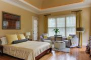 Фото 26 Охра, лимонный и цитриновый: 60+ теплых идей для дизайна спальни в желтых тонах
