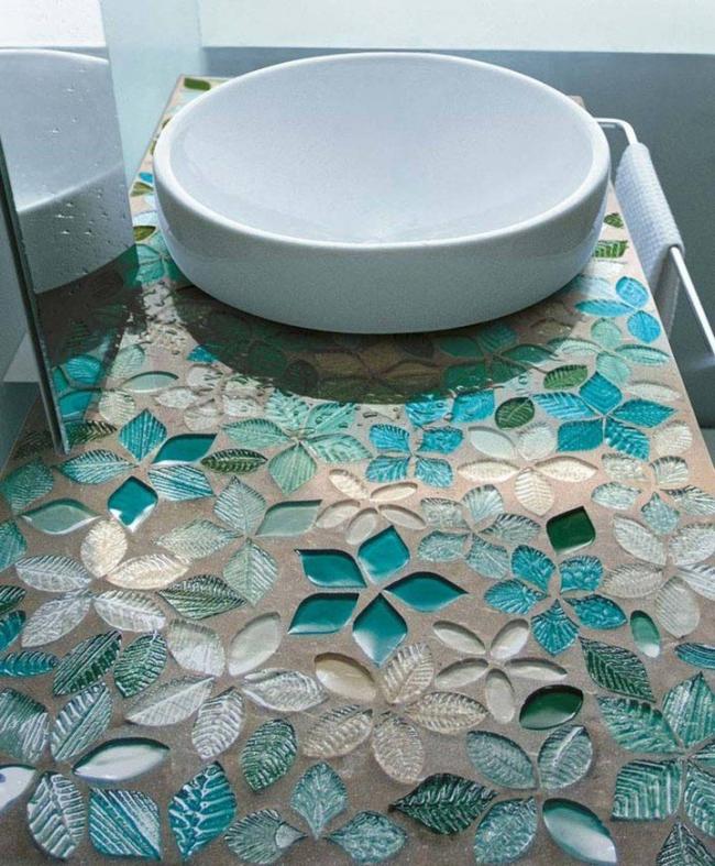 Мозаика из стекла ручной работы
