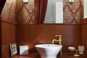 Фото 16 Выбираем столешницу для ванной из мозаики: дизайн, материалы и особенности укладки