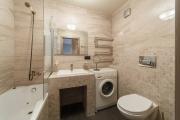 Фото 31 Выбираем столешницу для ванной из мозаики: дизайн, материалы и особенности укладки