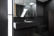 Фото 35 Выбираем столешницу для ванной из мозаики: дизайн, материалы и особенности укладки