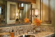 Фото 36 Выбираем столешницу для ванной из мозаики: дизайн, материалы и особенности укладки