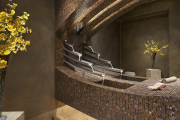 Фото 37 Выбираем столешницу для ванной из мозаики: дизайн, материалы и особенности укладки