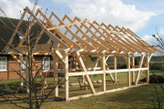 Фото 10 Бюргерское счастье и фахверк: проектируем загородный дом в немецком стиле (60+ фото готовых проектов)