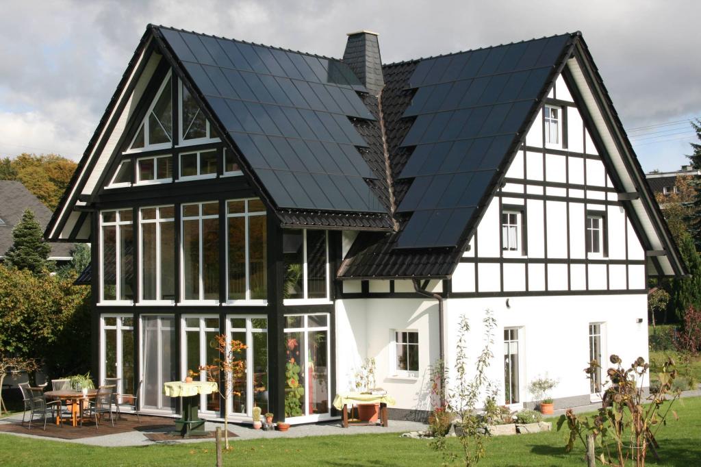 Как сделать немецкий фасад дома 195