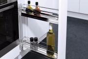 Фото 27 Бутылочница для кухни и системы карго (80+ фото): виды, размеры, обзор моделей и идеи бутылочниц своими руками